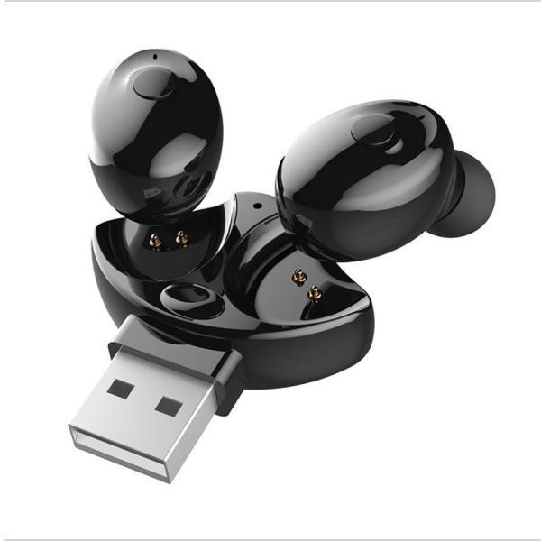 ワイヤレスイヤホン Bluetooth イヤホン両耳 車載イヤフォン ブルートゥース  USBチャージャー付き 高音質 防水|netdirect|08