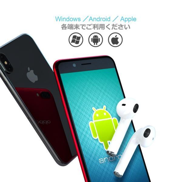 ワイヤレスイヤホン Bluetooth 4.2 ステレオ ブルートゥース オープン iphone6s iPhone7 8 x Plus android ヘッドセット ヘッドホンsale|netdirect|11
