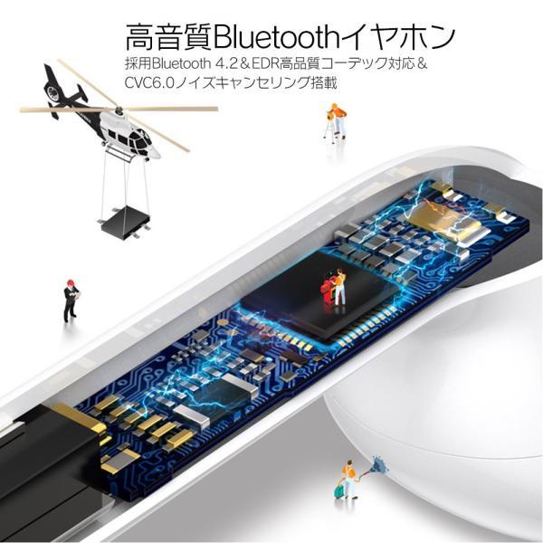ワイヤレスイヤホン Bluetooth 4.2 ステレオ ブルートゥース オープン iphone6s iPhone7 8 x Plus android ヘッドセット ヘッドホンsale|netdirect|15