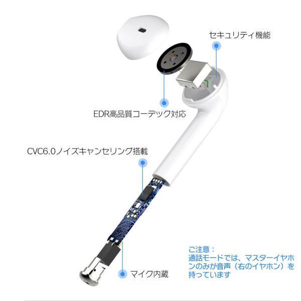 ワイヤレスイヤホン Bluetooth 4.2 ステレオ ブルートゥース オープン iphone6s iPhone7 8 x Plus android ヘッドセット ヘッドホンsale|netdirect|06
