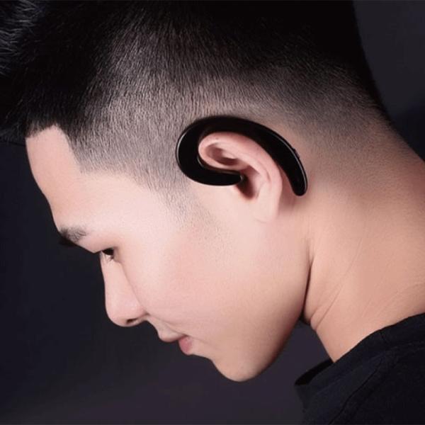 ワイヤレスイヤホン bluetooth イヤホン 骨伝導 高級 片耳用 iPhone android アンドロイド スマホ 高音質 音楽|netdirect|09