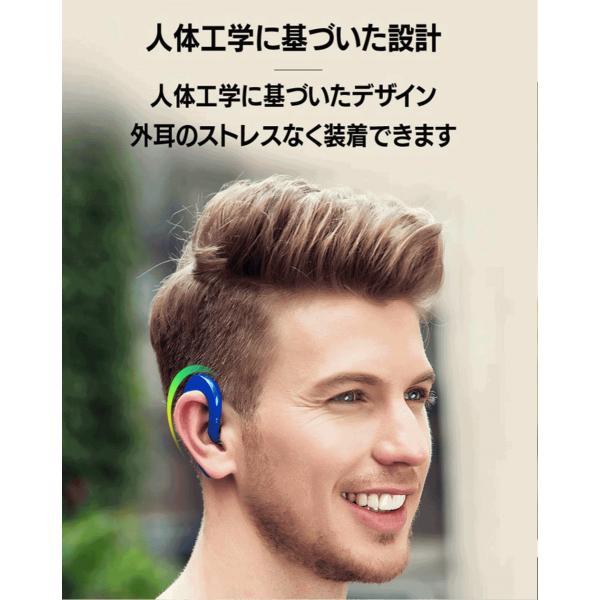 ワイヤレスイヤホン Bluetooth 4.2 ヘッドセット 片耳 高音質 耳掛け型 ブルートゥースイヤホン マイク内蔵 スポーツ ハンズフリー 通話可 iPhone&Android対応 netdirect 04