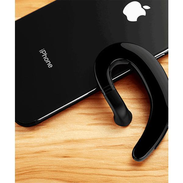 ワイヤレスイヤホン Bluetooth 4.2 ヘッドセット 片耳 高音質 耳掛け型 ブルートゥースイヤホン マイク内蔵 スポーツ ハンズフリー 通話可 iPhone&Android対応 netdirect 08