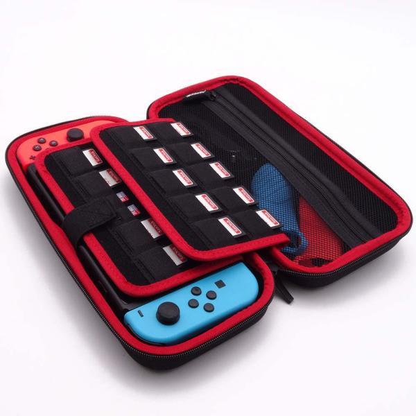 nintendo switch ケース ニンテンドースイッチ ケース メッシュ袋収納EVA、キャリーケース任天堂スイッチ専用 sale|netdirect|07