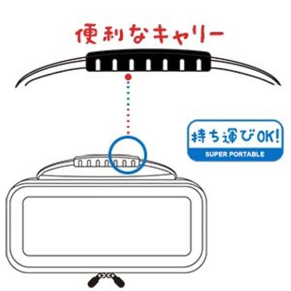 nintendo switch ケース ニンテンドースイッチ ケース メッシュ袋収納EVA、キャリーケース任天堂スイッチ専用 sale|netdirect|10