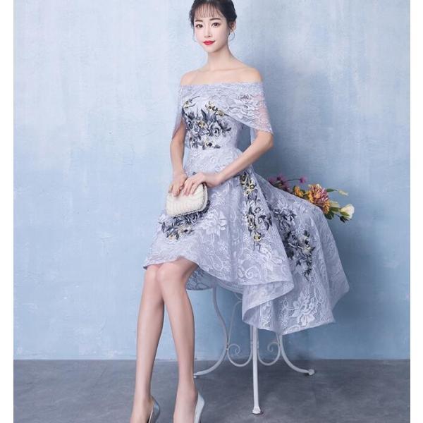 f4020b43975da ウェディングドレス ミニ カラードレス ウエディングドレス 花嫁 二次会 ドレス 結婚式 コンサート 演奏会 ブライズ ...