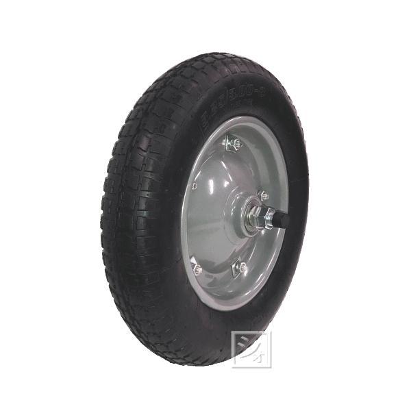 一輪車用ノーパンクタイヤセット (PR1302B)
