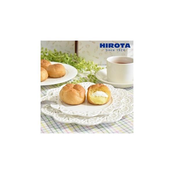 シュークリーム ツインフレッシュ (カスタード/ホイップクリーム) 1箱4個入 洋菓子のヒロタ HIROTA スイーツ ギフト おやつ お菓子 (1個28g)