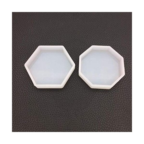 WYF Home 六角形のトレイと八角形のトレイ 樹脂シリコーン金型ネックレスアクセサリー部品シリコーン金型キッ|netshop-ito|03