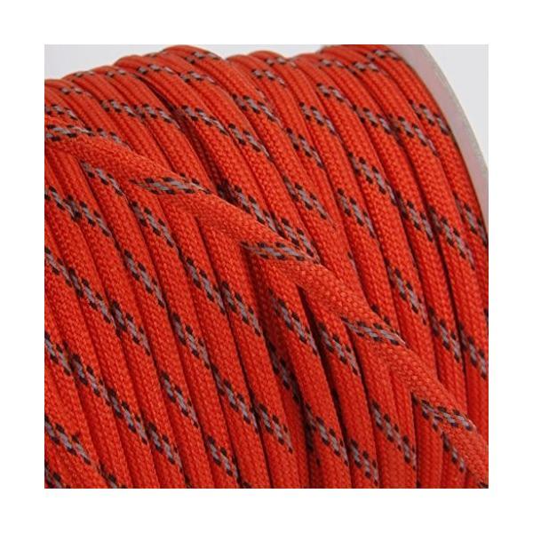 shopdp キャンプ ロープ テントロープ 7芯 反射ロープ 紐 径4mm30m (レッド)|netshop-ito|04