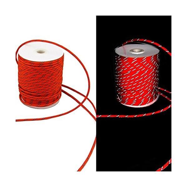 shopdp キャンプ ロープ テントロープ 7芯 反射ロープ 紐 径4mm30m (レッド)|netshop-ito|06