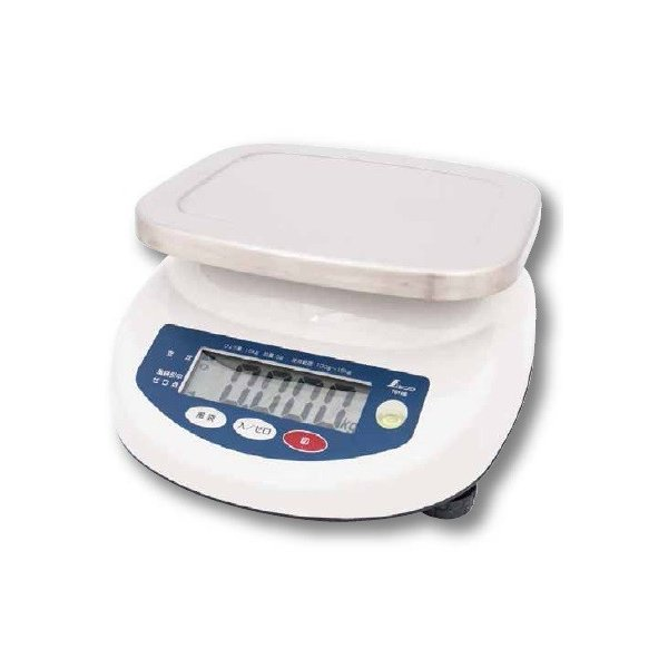 シンワ測定 デジタル上皿はかり 取引証明以外用 15kg 70106 農作物・水産物など様々な計量に最適