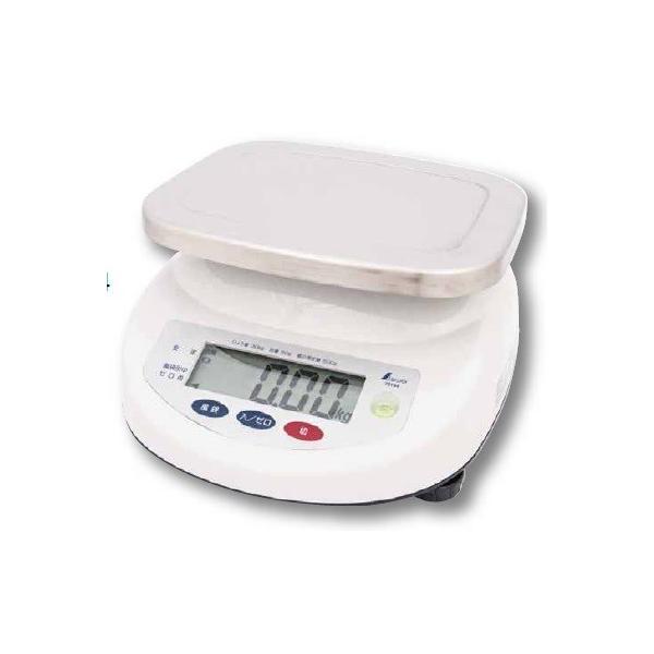 シンワ測定 デジタル上皿はかり 取引証明用 30kg 70194 農作物・水産物など様々な計量に最適