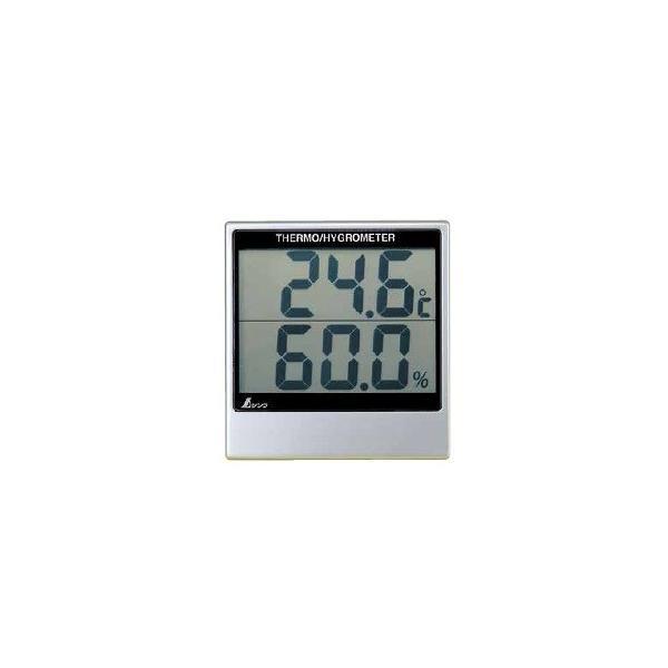 シンワ測定 デジタル温湿度計 A 72948 サイズ108×102×20mm 測定範囲(温度-5〜50℃・湿度30〜95%)