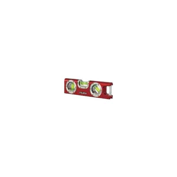 マグネット付小型水平器 モバイルレベル アルミ型 長さ160mm 斜め45度の気泡管が付いてます。 *カラー選べます