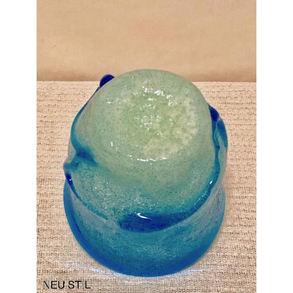 琉球ガラス グラス 稲嶺盛吉 ロックグラス 泡ガラス 白泡 母の日 父の日 お祝い neu-stil 04