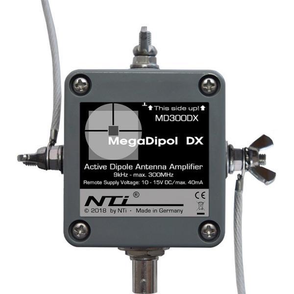 MegaDipol MD-300DX アクティブ受信アンテナ|neu-tek2