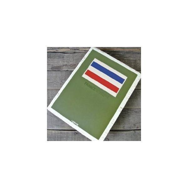 ノート ルーズリーフ フランス国旗 トリコロール (Bタイプ)