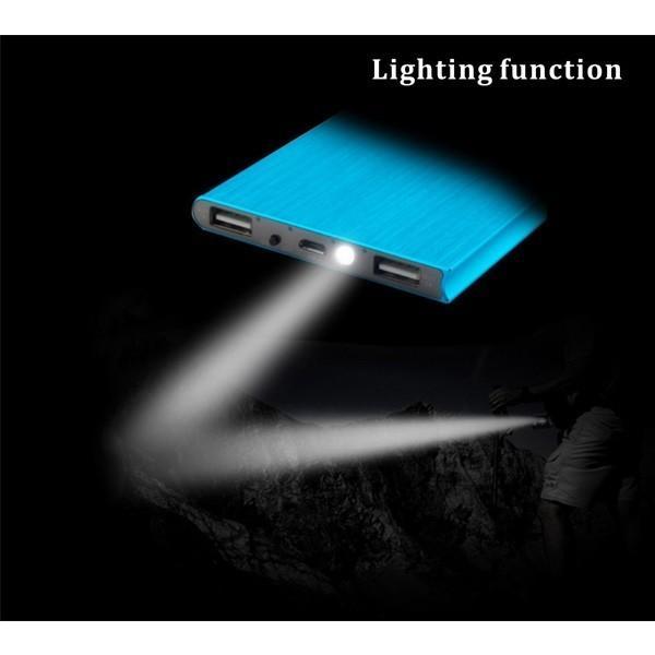 モバイルバッテリー 大容量 20000mah 大容量 軽量 薄型iPhone/iPad/Android/対応 USB スマホ 充電器 携帯充電器|nevermore|05