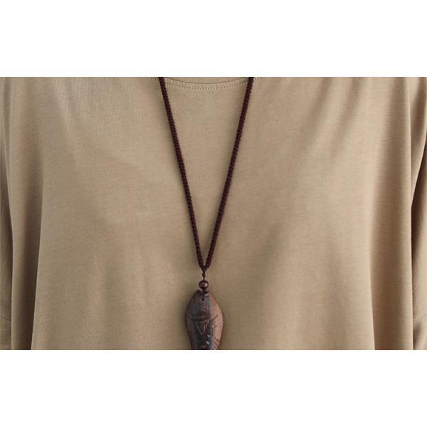 レディース 長袖Tシャツ ゆったり 丸襟 女性用 Tシャツ 体型カバー 秋物 トップス カジュアル 大きいサイズ 送料無料 new-forest-heart 06