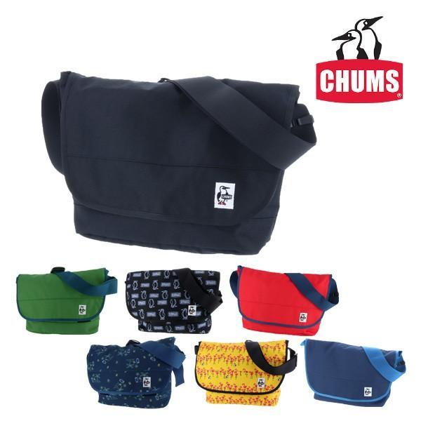 【数量限定!チャムス特製メッシュ巾着プレゼント】チャムス CHUMS エコチャムスメッセンジャーバッグ CORDURA ECOMADE Eco CHUMS Messenger Bag ch60-2470|newbag-w