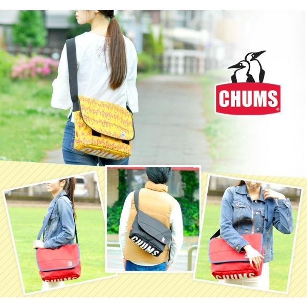 チャムス CHUMS エコチャムスメッセンジャーバッグ CORDURA ECOMADE Eco CHUMS Messenger Bag ch60-2470|newbag-w|15