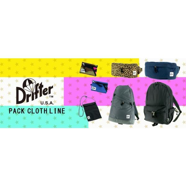 ドリフター Drifter ウエストバッグ ファニーパック ボディバッグ WAIST PACK ウエストパック メンズ レディース dfv1550