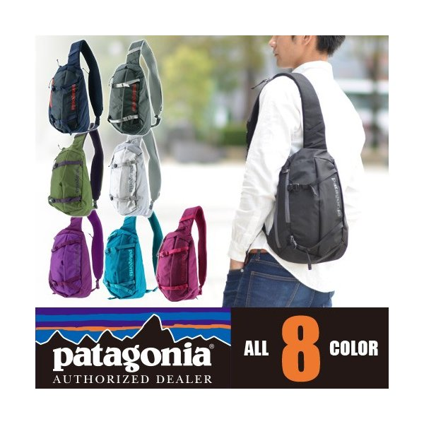 パタゴニア patagonia ボディバッグ ワンショルダーバッグ DAY PACKS Atom Sling 48260 newbag-w