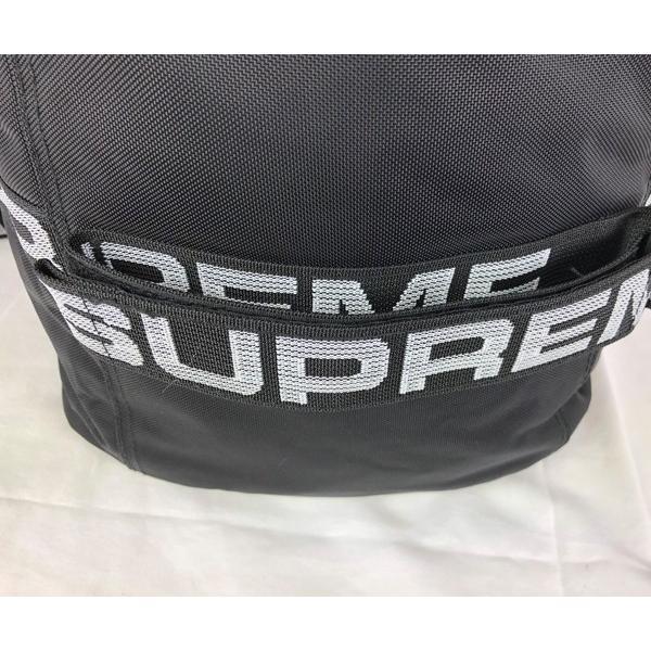Supreme ダッフルバッグ コーデュラ ナイロン シュプリーム 黒 ブラック Duffle Bag●bp106