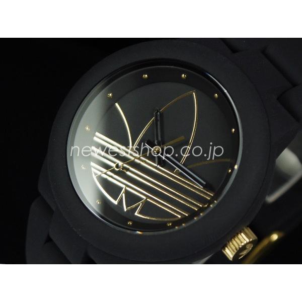 7cccfc06b3 adidas アディダス Aberdeen アバディーン ADH3013 ブラック×ゴールド 腕時計 送料無料 ...