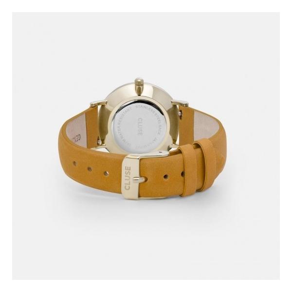 CLUSE クルース LA BOHEME GOLD ラ・ボエーム ゴールド(38mm径) CL18420 ブラック×マスタード 腕時計 レディース 送料無料