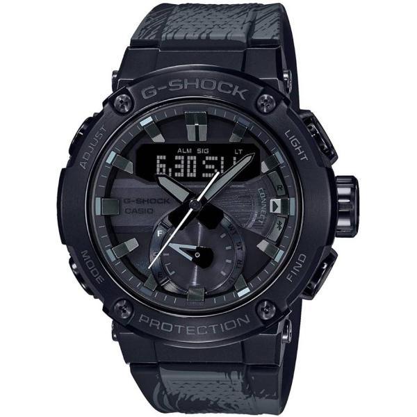 2020年5月 CASIOカシオG-SHOCKGショックFormless太極モデルGST-B200TJ-1Aブラック腕時計メンズ