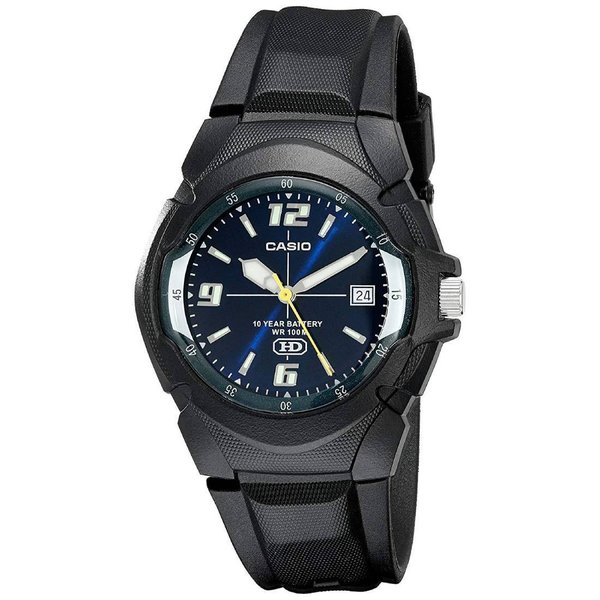 Tポイント5倍!メール便限定送料無料!CASIO カシオ スタンダード MW-600F-2A ネイビー×ブラック 腕時計 メンズ ジュニア