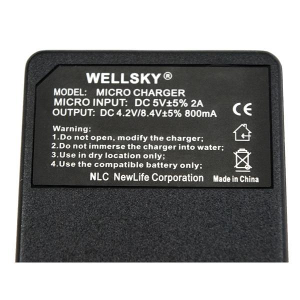 [ 超軽量 ] SONY ソニー [ NP-BK1/ NP-BY1] 用 USB 急速 互換充電器 バッテリーチャージャー BC-TRX