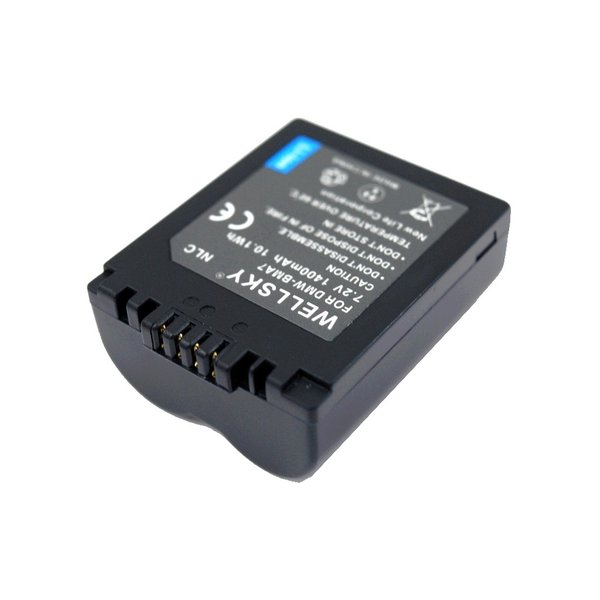 [ 2個セット ] Panasonic パナソニック DMW-BMA7 互換バッテリー [ 純正充電器で充電可能 残量表示可能 純正品と同じよう使用可能 ]