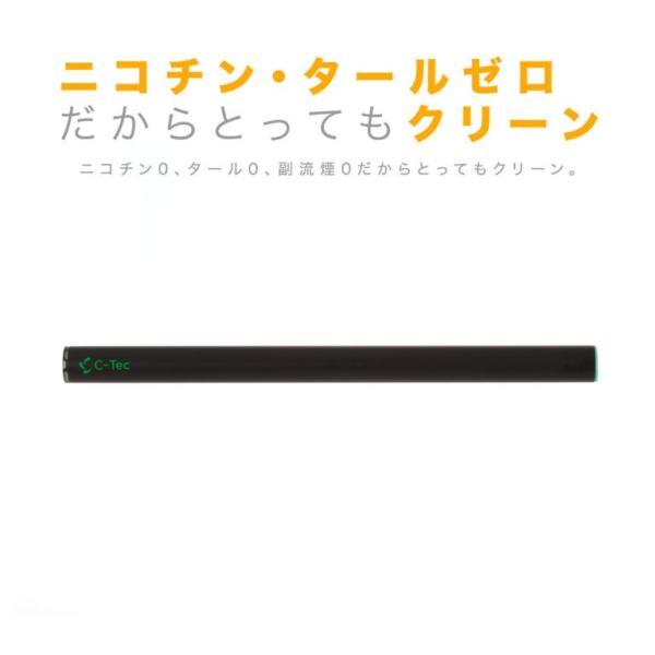 電子タバコ 使い捨て C-Tec STICK ミント 禁煙グッズ|newlogic-store|05