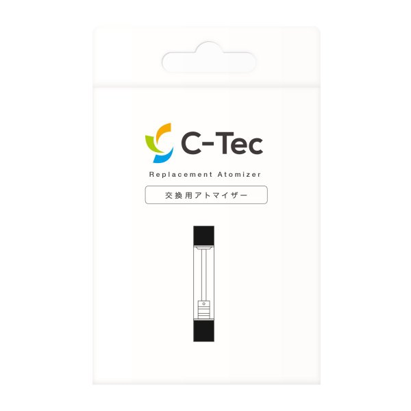 C-Tec アトマイザー(ブラック)  ミストサプリ ctec シーテック newlogic-store