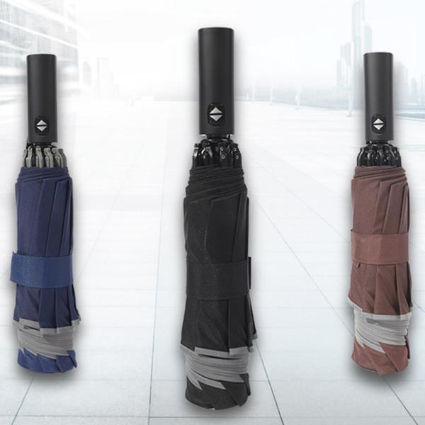 12本骨 折りたたみ傘自動開閉軽量折り畳み傘メンズ大きい晴雨兼用台風対応梅雨対策大きい超撥水おりたたみ傘210T高強度グラスフ
