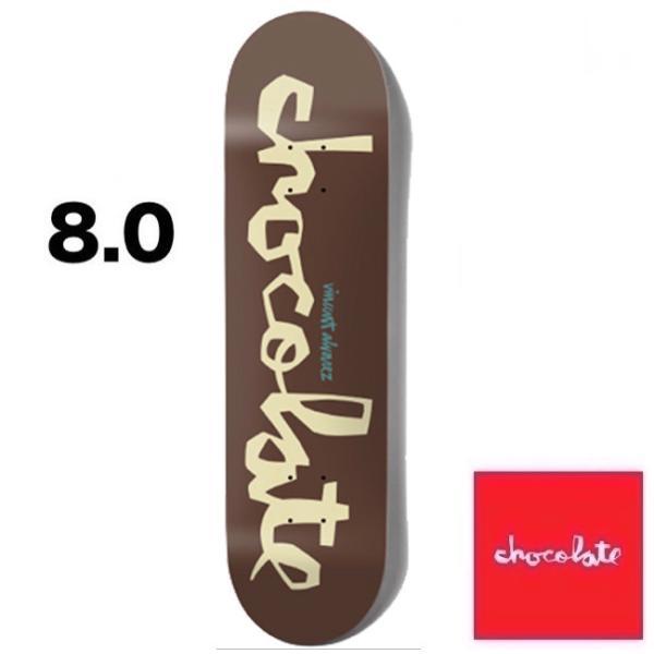 【Chocolate】チョコレート FIRME 8.0 inc デッキ DECK skate スケボー スケートボード [STEVIE PEREZ]