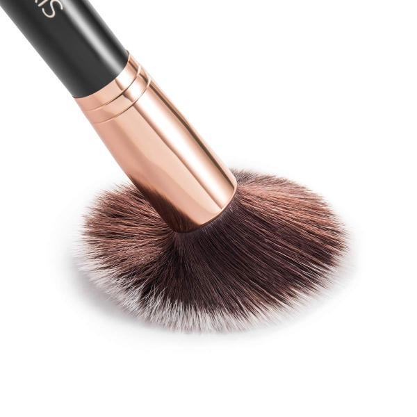 SIXPLUS 貴族のゴールド メイクブラシ11本セット ブラウン化粧ポーチ付き (貴族のゴールド)|newwaveshop|04