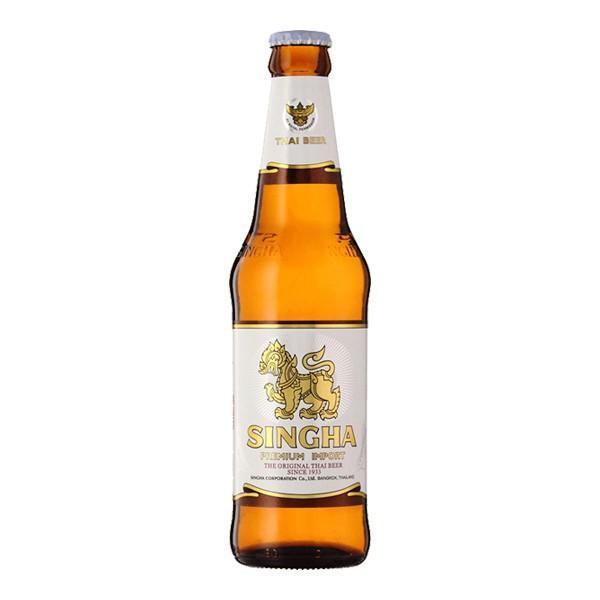 シンハービール 330ml 瓶 (単品/1本) 海外ビール 輸入ビール :461455:世界のビール ニューヨーク - 通販 -  Yahoo!ショッピング