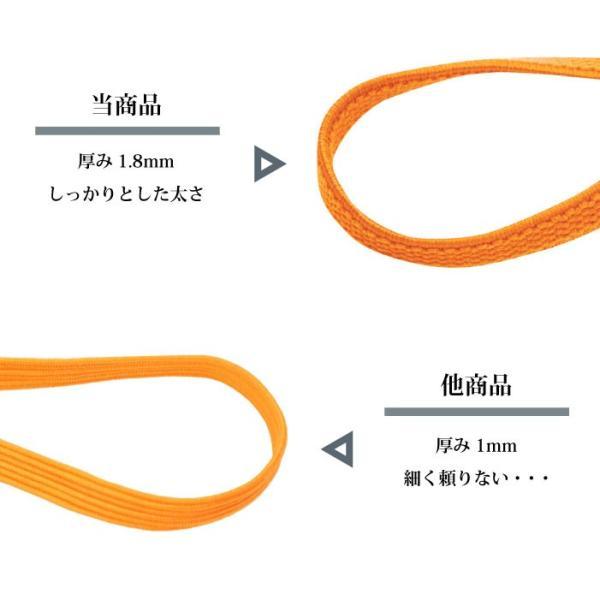 結ばない 伸びる 靴ひも 靴の着脱を簡単に! 伸縮する靴ひも  織物 + ゴム|nexary|04
