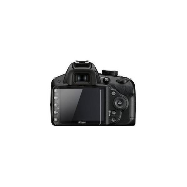 日本製ガラス使用 Nikon D3000 / D3100 / D3200 / D3300 / D3400 用 ガラスフィルム カメラ液晶保護フィルム  液晶プロテクター ニコン