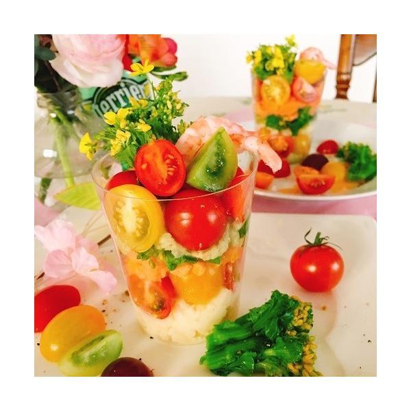 トマト ミニトマト 新鮮 生産者直送 カラフルトマトが入ったジュエリーボックスカップ入り8カップセット |next-triange|06