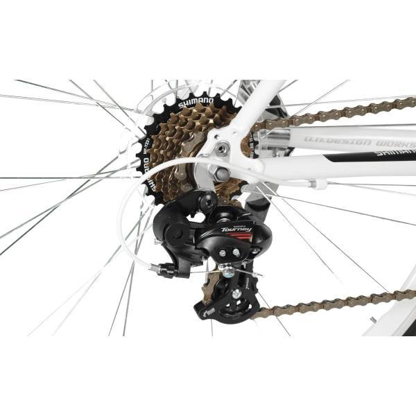 アウトレット a.n.design works 5014AL 自転車 ロードバイク 本体 軽量 アルミ STI 14段変速 カンタン組立 バルブアダプタープレゼント nextbike 06