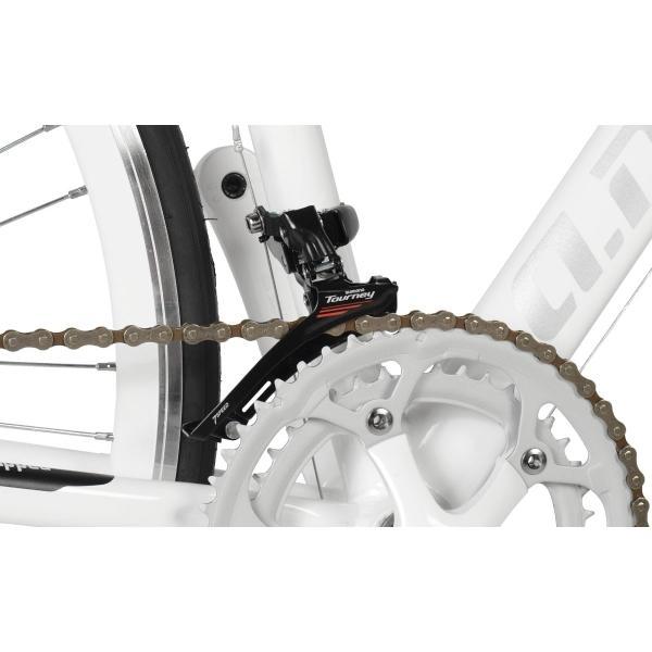 アウトレット a.n.design works 5014AL 自転車 ロードバイク 本体 軽量 アルミ STI 14段変速 カンタン組立 バルブアダプタープレゼント nextbike 07