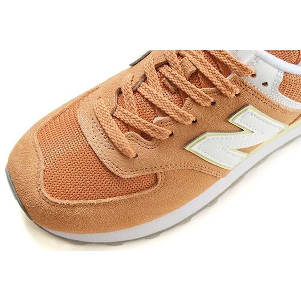Newbalance(ニューバランス) WL574 ESF オレンジ/イエロー