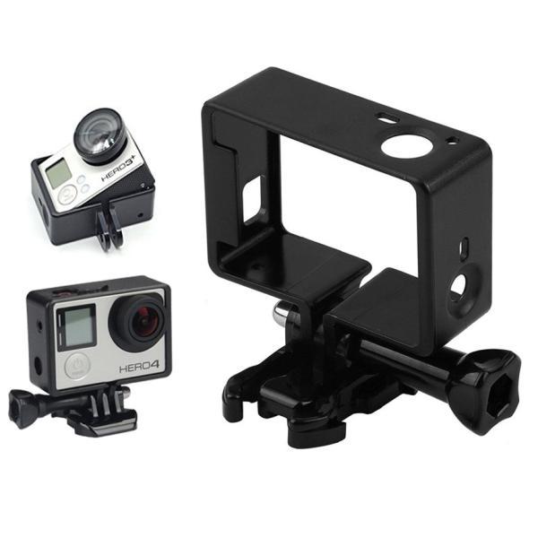 gopro hero4/3+/3 Action Camera Cam に適応 保護枠ケース プロテクター ハウジング ケース フレーム MA-60