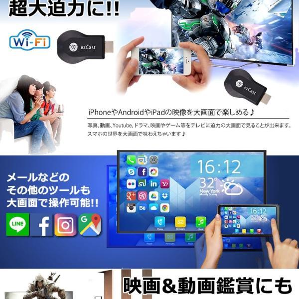 エアーキャスト ハイパーver  HDMI 無線 iPhone iPad ミラーキャスト アンドロイド 高画質 QRコード iOS10.0対応 持ち運び AIRCTHP