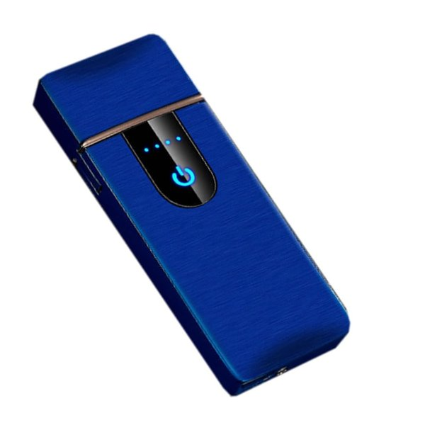 スモーカーフェイス ブルー 電熱 電子 ターボライター USB充電式 煙草 タバコ 喫煙 グッズ SUMORKFC-BL|nexts|06